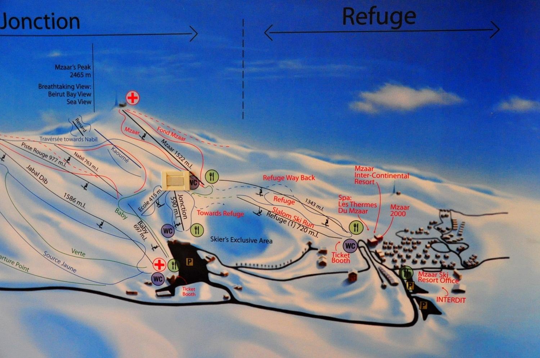 kfardebian ski map