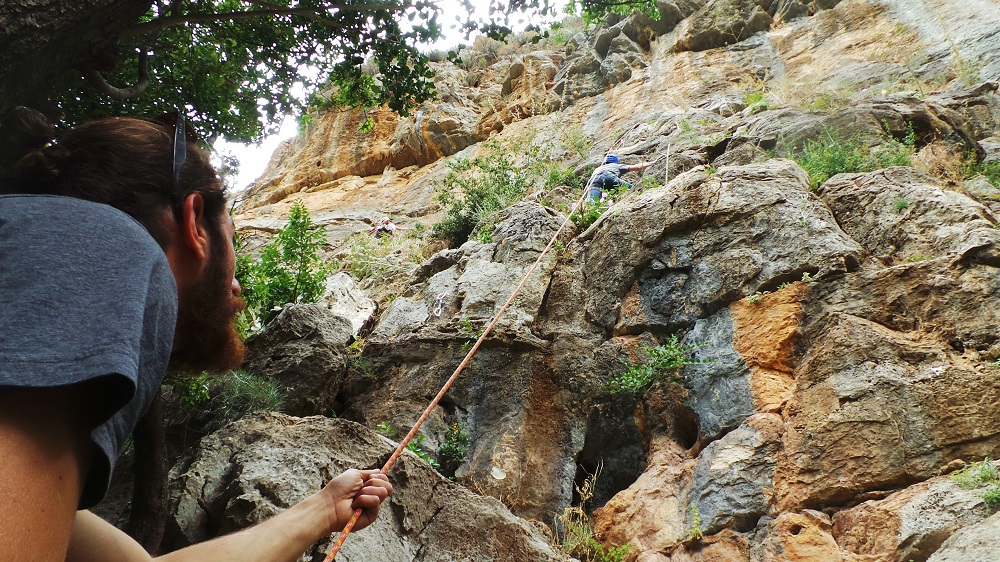 tannourine climbing